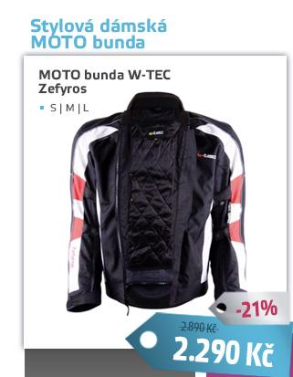 Dámská moto bunda W-TEC Zefyros TWG-130 - AKCE