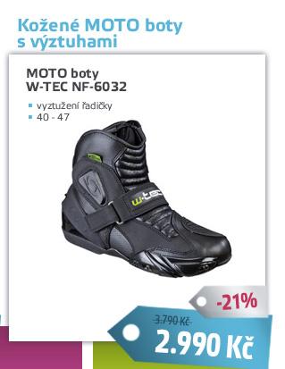 Kožené moto boty W-TEC NF-6032 - AKCE