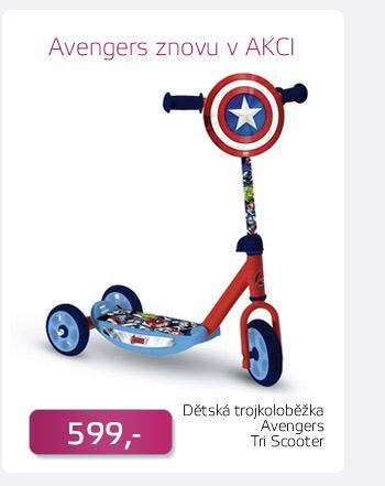 Dětská trojkoloběžka Avengers Tri Scooter