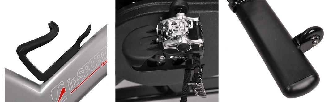 Výbava cyklotrenažéra inSPORTline Epsilon