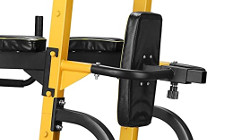 Prekės ID: 16410 TheFree-Standing Pull-Up Station inSPORTline Power Tower PT250is a beautiful multi-purpose pull-up bar with a stable base that offers a lot more ...